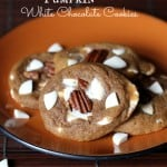 Deluxe Pumpkin White Chocolate Cookies