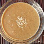 Homemade Tahini Recipe in bowl