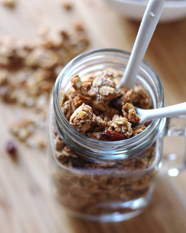 Almond Butter Coconut Granola