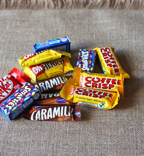 Pile of Candy Bars