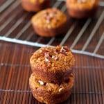 Grain-Free Coconut Flour Pumpkin Muffins