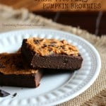 Fudgy Paleo Pumpkin Brownies – Grain Free
