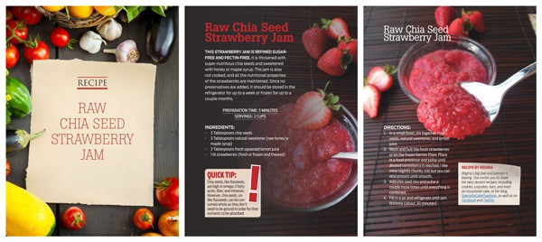 Raw Chia Seed Jam Feature