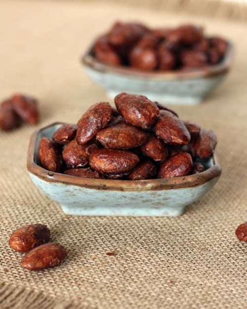 Maple Cinnamon Roasted Almonds