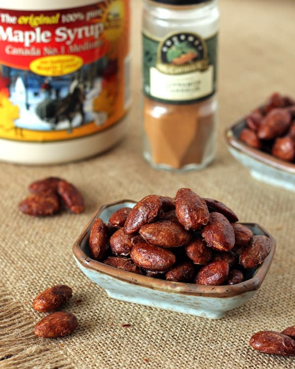 Canadian Moose Droppings - Maple Cinnamon Roasted Almonds