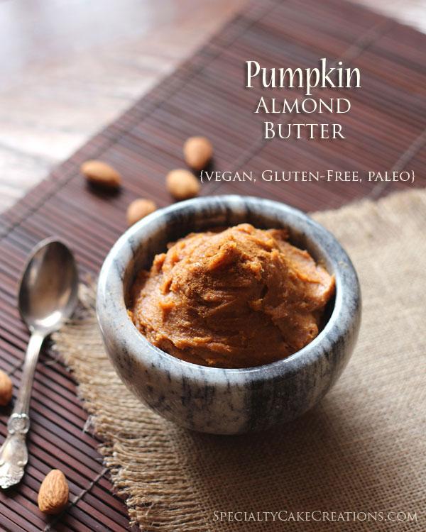 Pumpkin Almond Butter | leelalicious.com