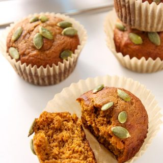 These delicious and healthy Coconut Flour Pumpkin Muffins are paleo, gluten free and clean eating. They make a delicious breakfast or snack.