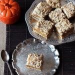 Pumpkin Crumb Bars