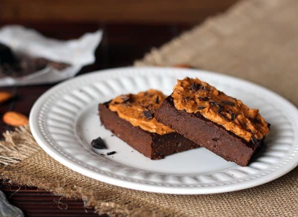 Grainfree Pumpkin Fudge Brownies