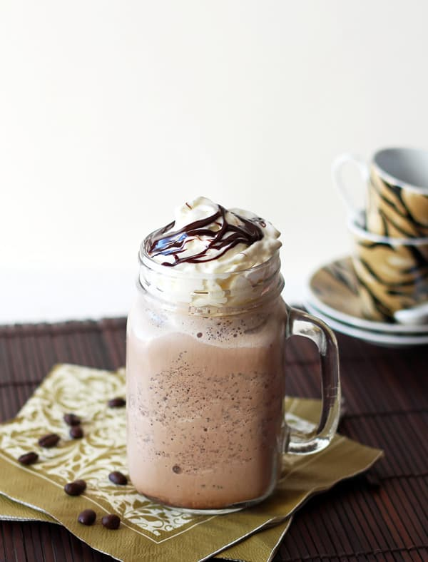 Homemade Java Chip Frappuccino Recipe (old picture)