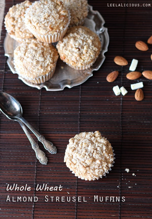 Whole Wheat Almond Muffins
