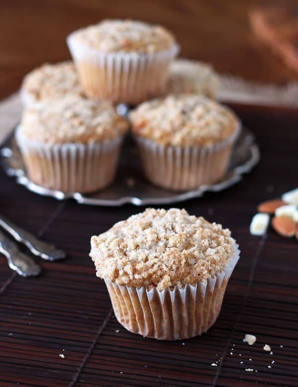 Almond Streusel Muffins