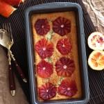 Blood Orange Magic Cake