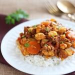 Cauliflower Ground Beef Curry Recipe