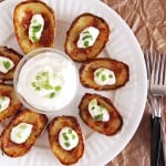 Bacon Cheese Potato Skins