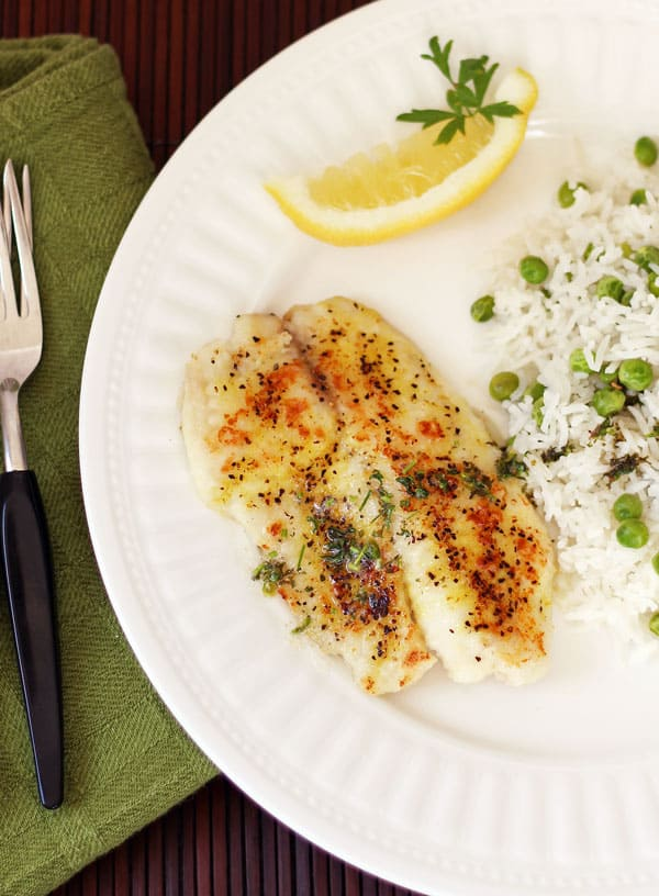 30-Minute Lemon Pepper Tilapia
