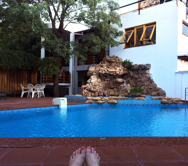 Pool at Westfalen Haus