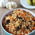 Uzbek Beef Plov – Rice Pilaf
