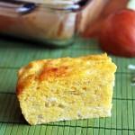 Sopa Paraguaya – Cheese and Onion Cornbread