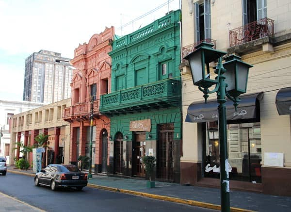 Colorful Buildings in Asuncion