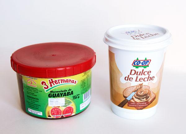 Dulce de Leche and Guava Jam
