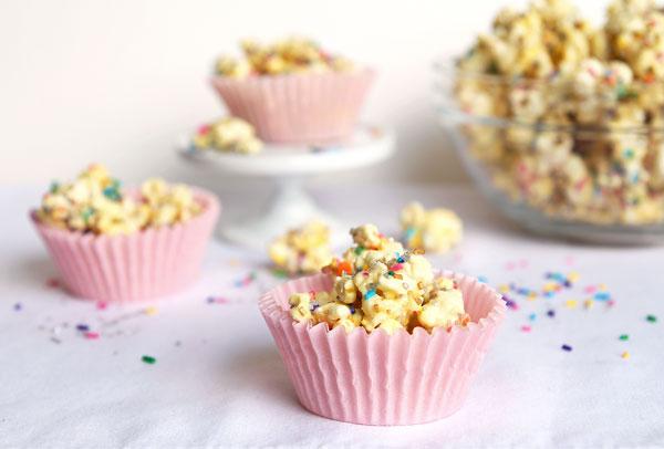 Sparkling Funfetti Popcorn Mix