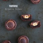 Toffifee Brownie Bites