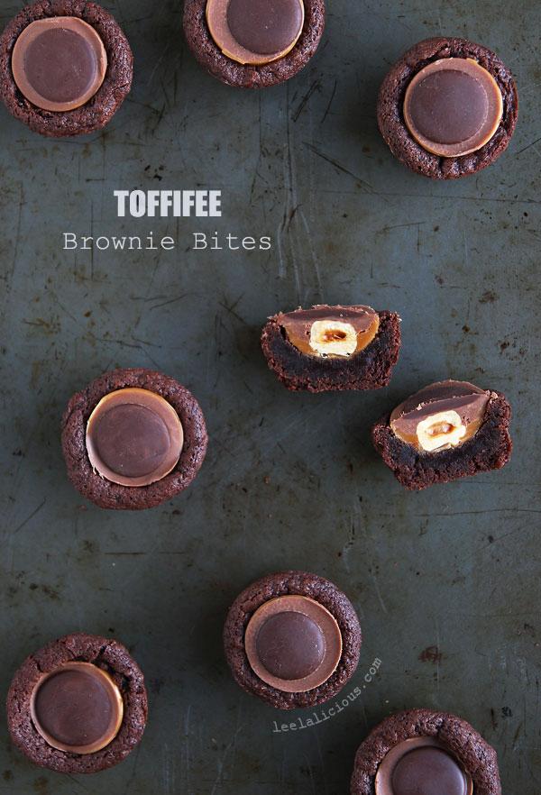 Brownies with Toffifee