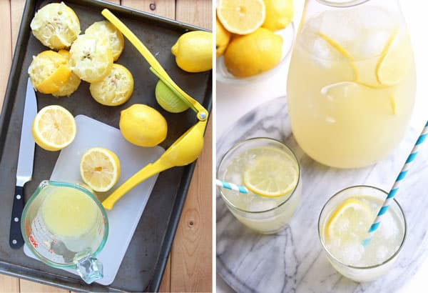 Naturally Sweetened Lemonade