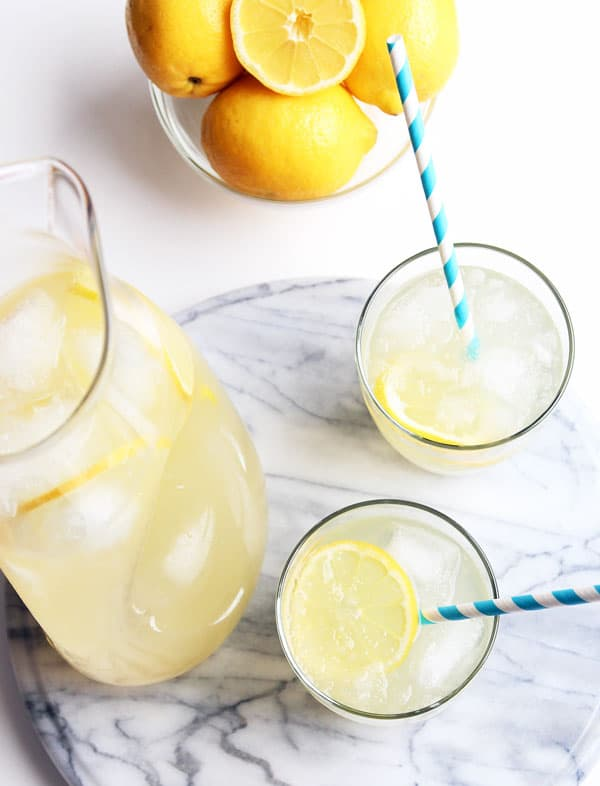 Honey Sweetened Lemonade