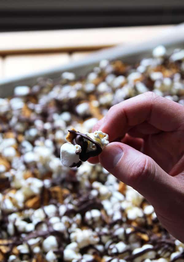 S'mores Popcorn Munch