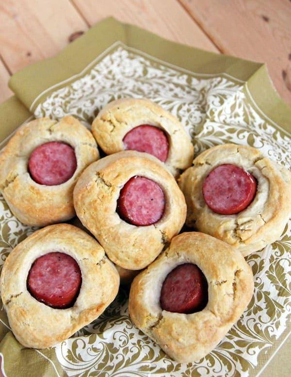 Sourdough Sausage Biscuits
