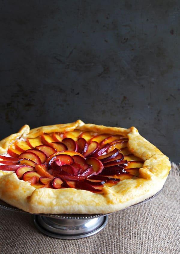 Peach Plum Galette