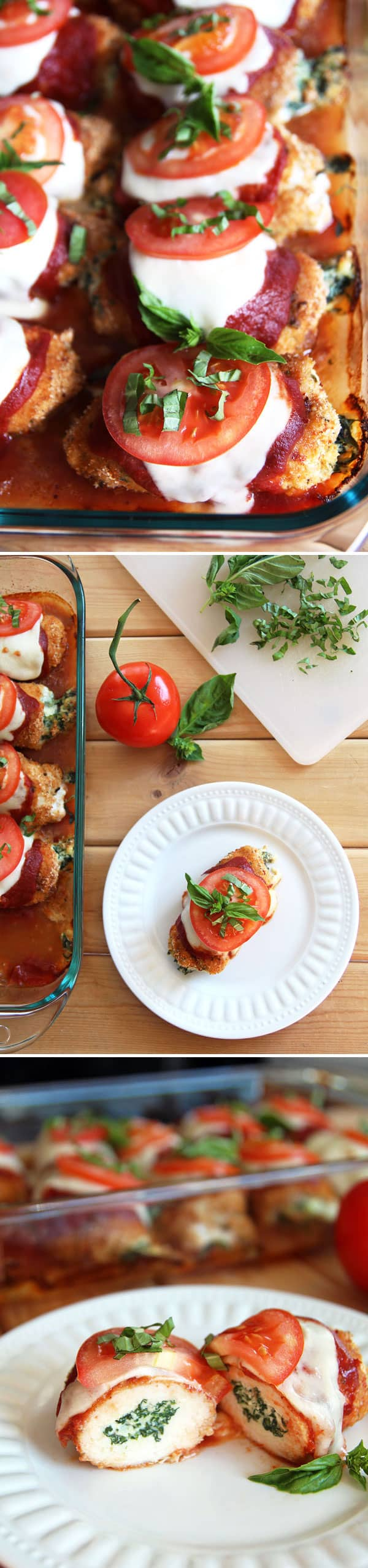 Stuffed Caprese Chicken