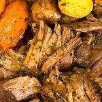 Easy Pot Roast Slow Cooker Recipe