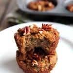 Grain-free Coconut Flour Zucchini Muffins