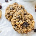 Healthy Peanut Butter Banana Breakfast Cookies
