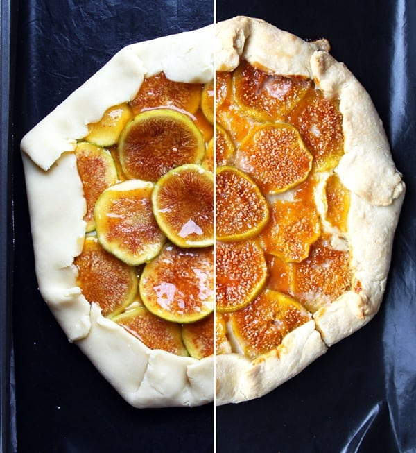 Rustic Fig Tart
