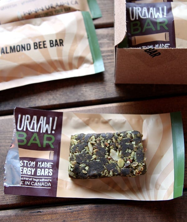 Uraaw! Customized Energy Bar GIVEAWAY