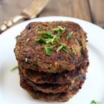 Baked Zucchini Beef Patties
