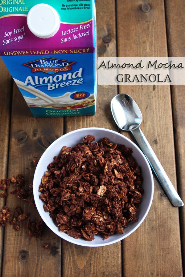 Mocha Granola with Almonds