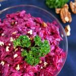 Creamy Russian Beetroot Salad
