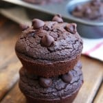 Grain-Free Double Chocolate Beet Muffins