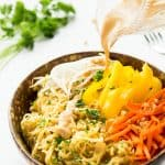 Thai Spaghetti Squash with Peanut Sauce – VIDEO