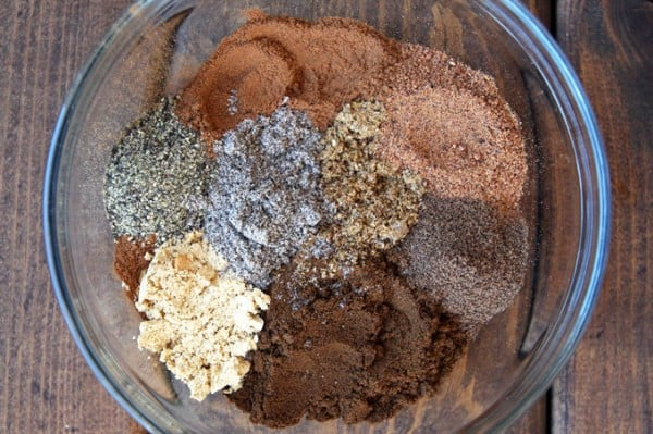 Making Gingerbread Spice