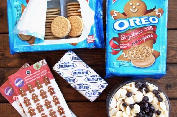 Ingredients to Make Gingerbread Balls