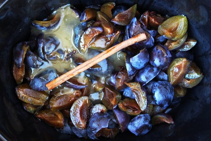 Slow Cooked Plum Butter