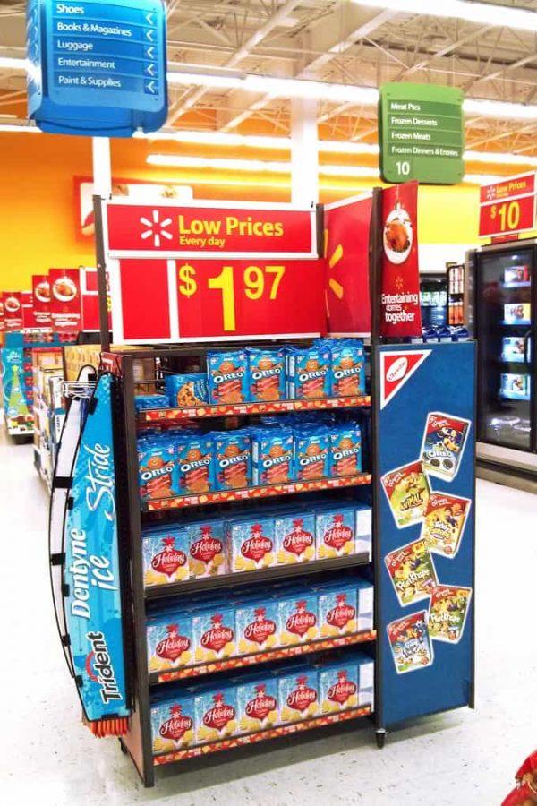 Oreo Shelf at Walmart