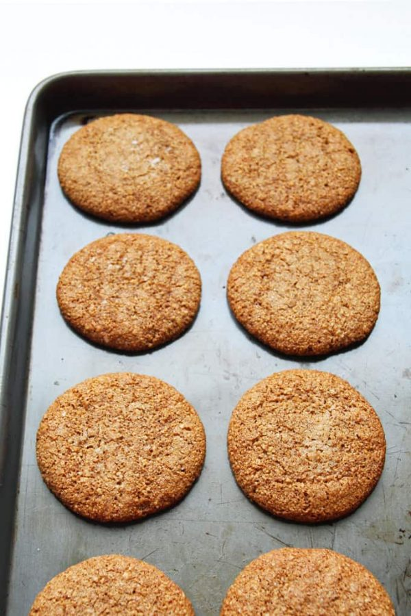 Cookies with Cinnamon and Molasses