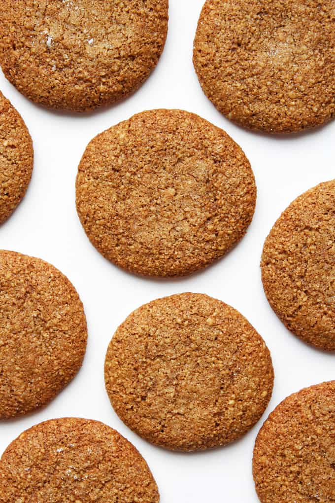 Chewy Cinnamon-Molasses Cookies